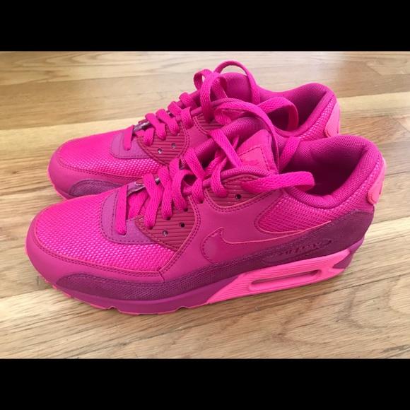 nike air max 90 size 8 pink